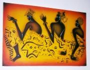Pintura em tela, Arun (2007)
