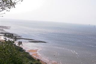 praia em Maputo