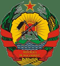 emblema retirado do site da Presidência da República de Moçambique