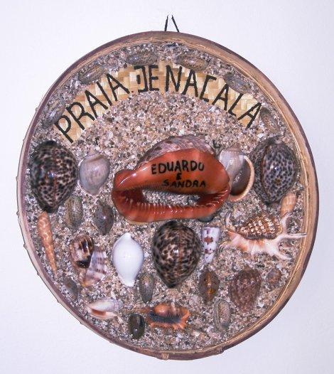 artesanato com conchas, de Nacala