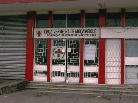 fachada Cruz Vermelha de Moçambique