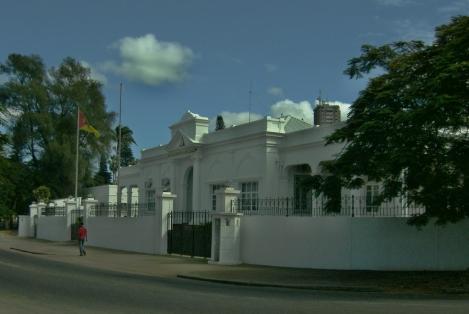 fachada do ministério da Defesa