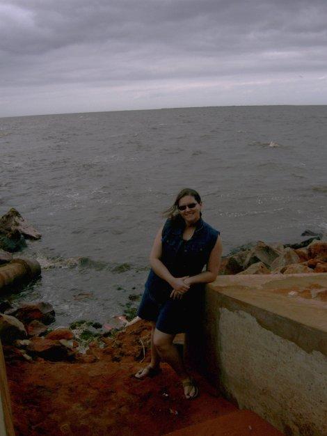 na beira do mar, em 4 de outubro de 2010
