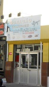 entrada do restaurante O Dragão