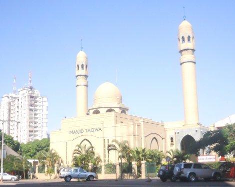 mesquita na av. Eduardo Mondlane