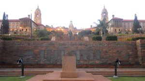 jardim do Union Buildings
