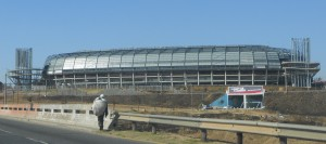fachada do Orlando Stadium