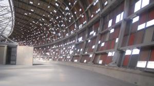 Soccer City visto por dentro