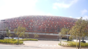 fachada do Soccer City