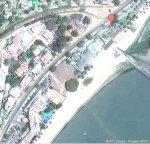 vista aérea da avenida Marginal, em Maputo