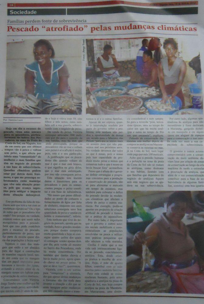 Sucesso moçambicano